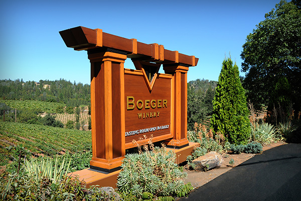Boeger Winery in Close Proximity