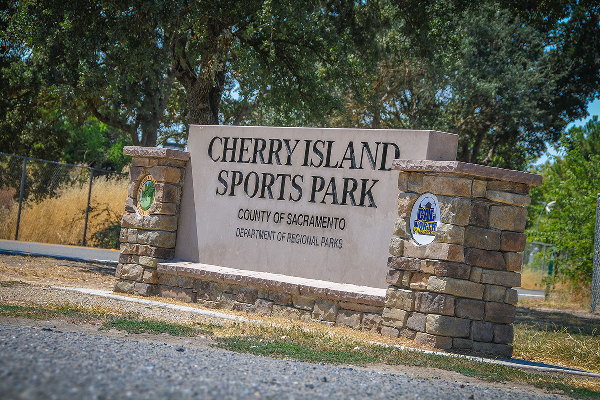 Play Soccer at Cherry Island Sports Park
