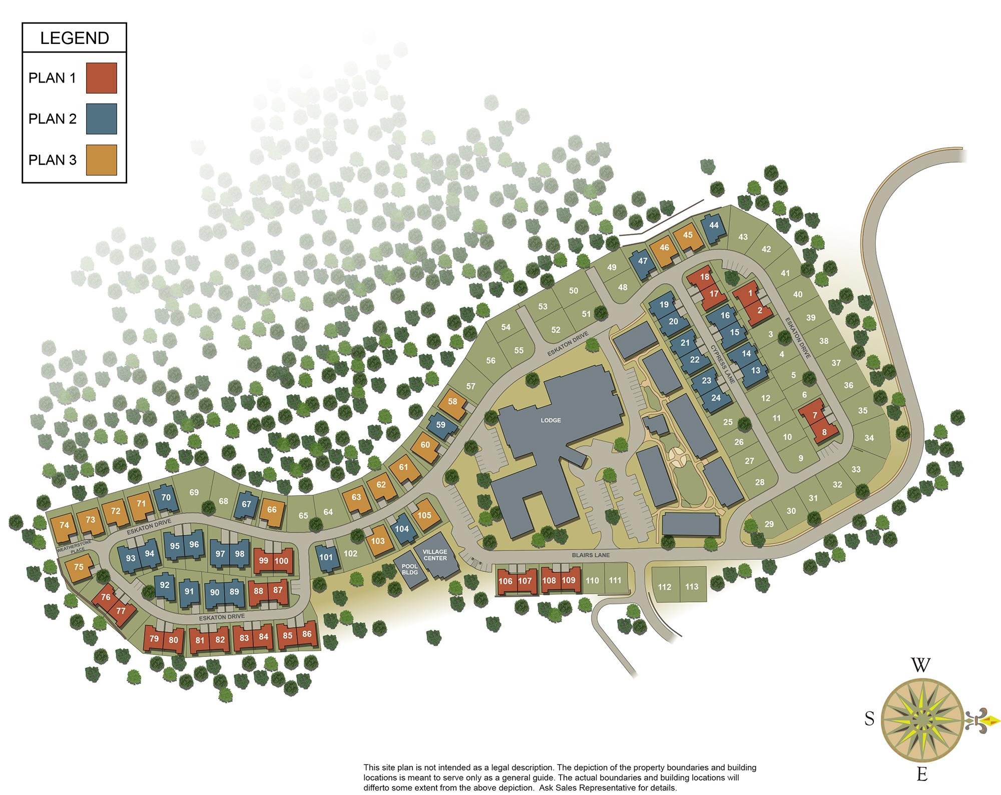 Silverado-Site-Plan