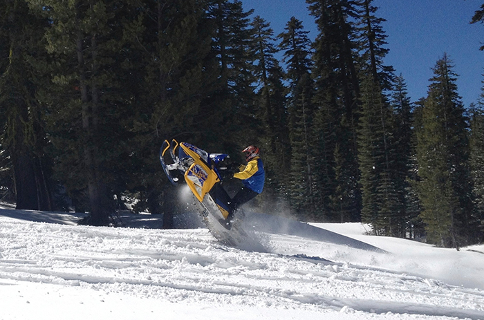 Snow Mobiling in Nevada