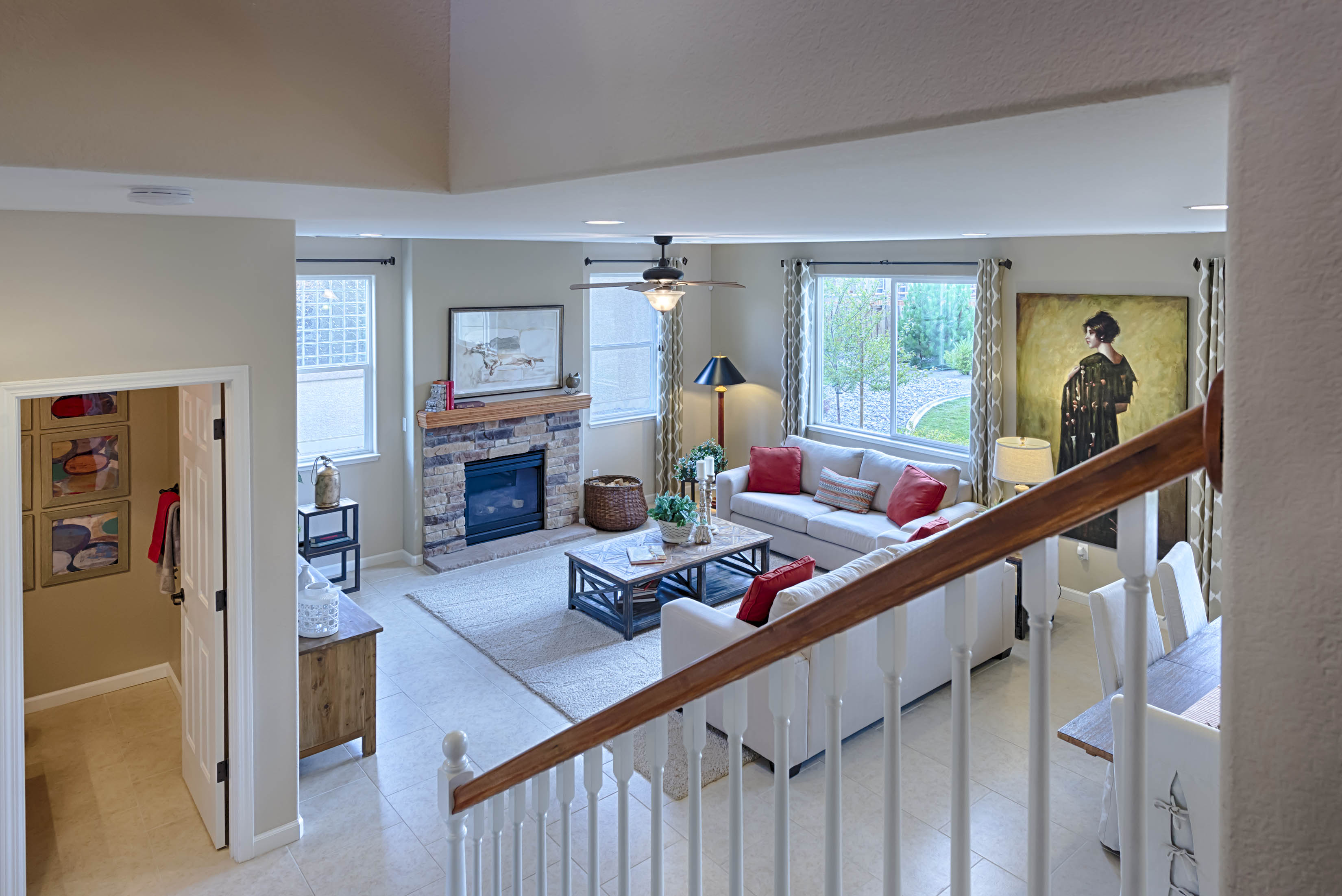 Downstairs View of Plan 2061