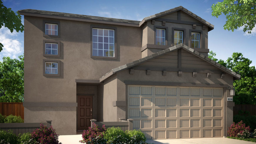 New Solar Homes from the High $200,000 Now Selling at Elverta Park