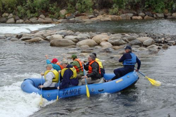 Rafting at the Truckee River